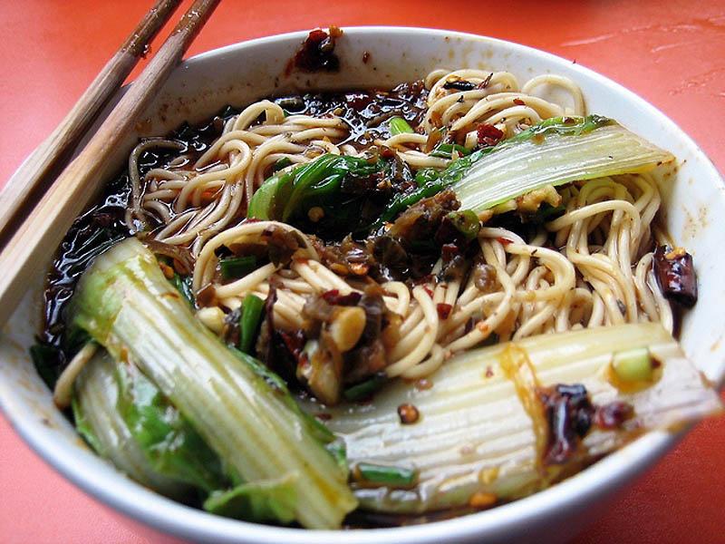 Petit déjeuner en Chine