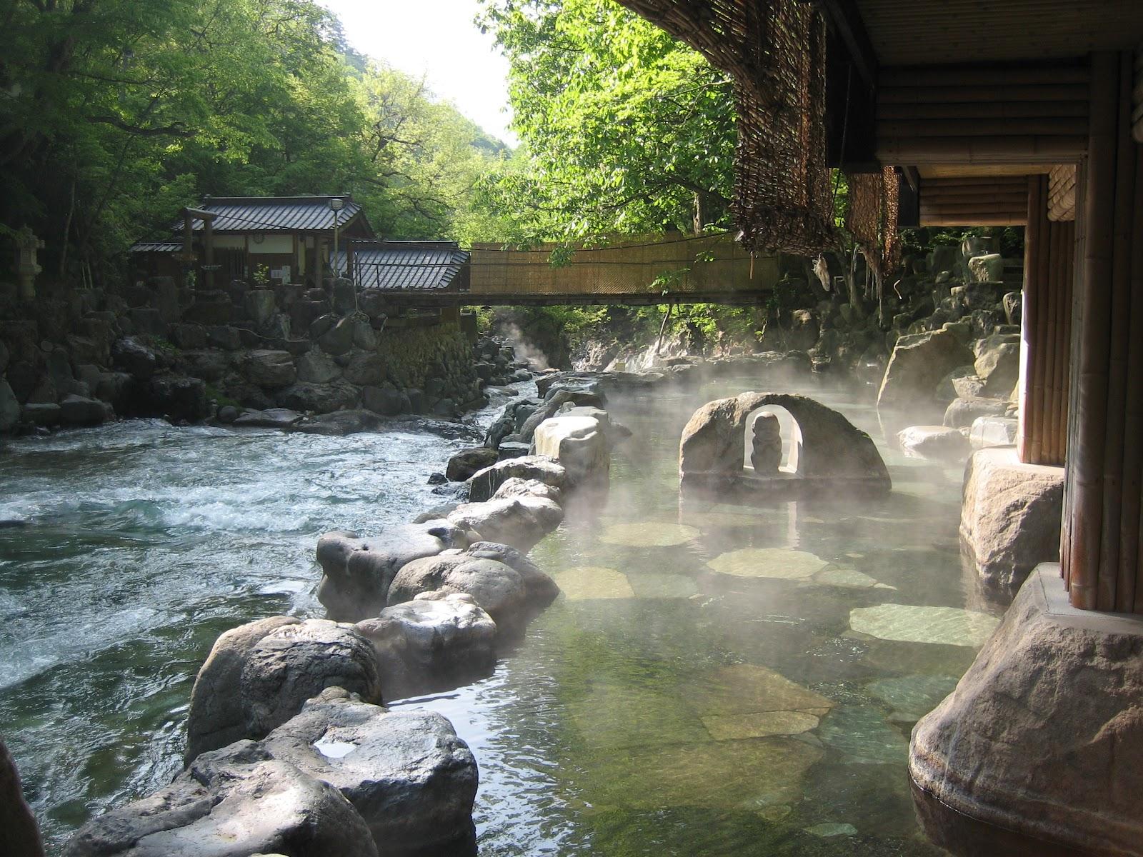 bain au Japon