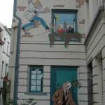 Bruxelles mur peint