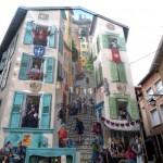 mur peint au Puy en Velay