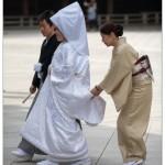 robe blanche rite shintoïste