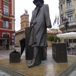 statue à Oviedo
