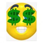 smiley argent