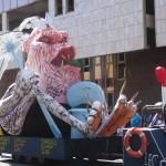 Carnaval en Maartinique : roi Vaval