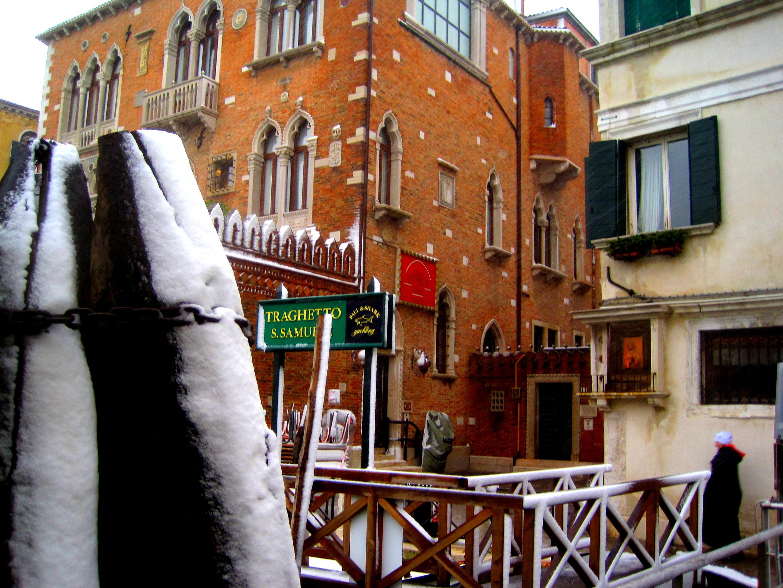 Venise sous la neige