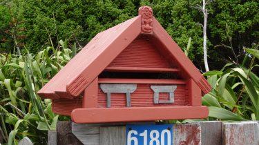 boite aux lettres maorie